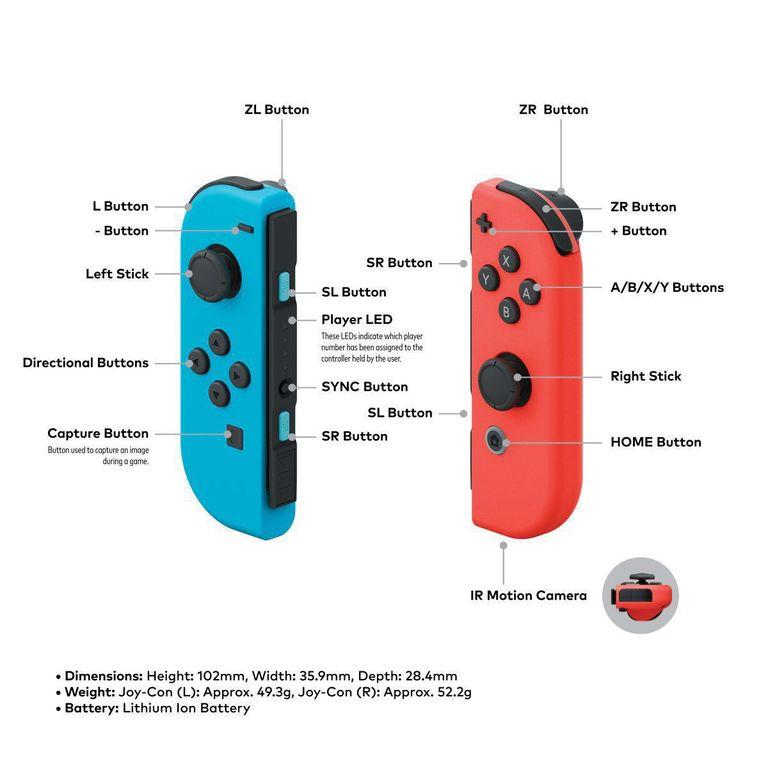 Joy-Con technology